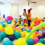【Youtube 番組『マジ×かる』とスタジオのコラボ!親子風船プールイベント報告☆】